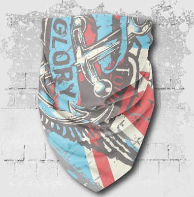 UNINKSPORT BANDANA BMX PAINTBALL
