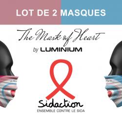 LA PAIRE DE MASK-OF HEART...